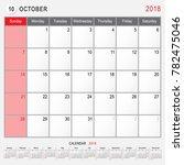2018 Calendar Planner Design ...