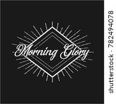 morning glory fancy vintage... | Shutterstock .eps vector #782494078
