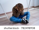 child abuse at home | Shutterstock . vector #782498938