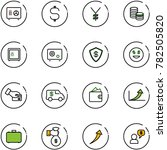 line vector icon set   safe...   Shutterstock .eps vector #782505820