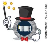 magician populous coin... | Shutterstock .eps vector #782514430