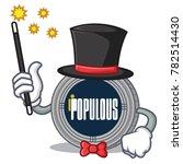 magician populous coin... | Shutterstock .eps vector #782514430
