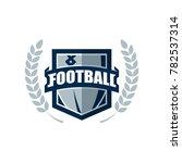 american football logo template.