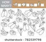 count how many fruits  berries... | Shutterstock .eps vector #782539798