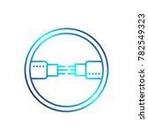 optic fiber cables vector...   Shutterstock .eps vector #782549323