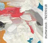 oil painting on canvas handmade.... | Shutterstock . vector #782550118