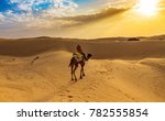 tourist enjoy desert safari... | Shutterstock . vector #782555854