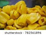 jack fruit close up tropical... | Shutterstock . vector #782561896