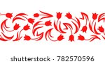 vector illustrations of tulips... | Shutterstock .eps vector #782570596