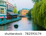 groenburgwal canal in the old... | Shutterstock . vector #782593174