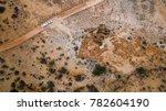 aerial veiw of four wheel drive ... | Shutterstock . vector #782604190