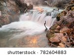 winter scene in tuhinj valley ... | Shutterstock . vector #782604883