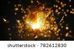 bengal lights background.... | Shutterstock . vector #782612830
