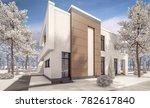3d rendering of modern cozy... | Shutterstock . vector #782617840