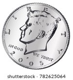 a united states jfk head half... | Shutterstock .eps vector #782625064