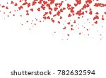 light red vector abstract small ... | Shutterstock .eps vector #782632594