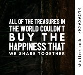 quotes about love | Shutterstock . vector #782636014