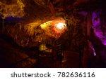 postojna cave  slovenia  ... | Shutterstock . vector #782636116