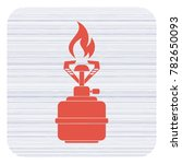 camping stove icon vector.... | Shutterstock .eps vector #782650093