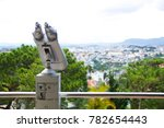 tower viewer coin operated... | Shutterstock . vector #782654443