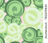 seamless pattern. curls of... | Shutterstock .eps vector #782659834