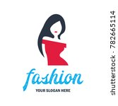 fashion and beauty logo ... | Shutterstock .eps vector #782665114