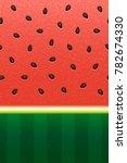 seamless watermelon pattern.   Shutterstock .eps vector #782674330