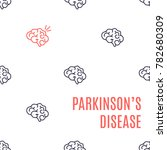 parkinson's disease poster.... | Shutterstock .eps vector #782680309