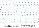 light blue vector geometric... | Shutterstock .eps vector #782691610