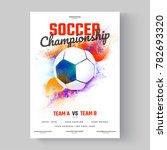 soccer ball  soccer... | Shutterstock .eps vector #782693320