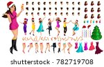isometric character constructor ... | Shutterstock .eps vector #782719708