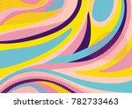 creative geometric colorful...