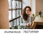 Pretty Woman Talking On Phone...
