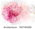 luxurios floral background for... | Shutterstock .eps vector #782740300