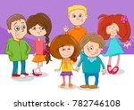 cartoon vector illustration of... | Shutterstock .eps vector #782746108