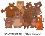 cartoon illustration of happy...   Shutterstock .eps vector #782746120
