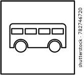 bus icon vector illustration...