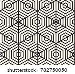 vector seamless pattern. modern ... | Shutterstock .eps vector #782750050