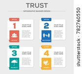trust infographic concept