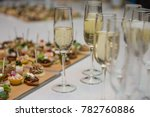 catering banquet table with... | Shutterstock . vector #782760886