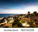 torremolinos  andalusia  spain  ... | Shutterstock . vector #782762200
