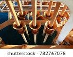 offshore construction platform... | Shutterstock . vector #782767078