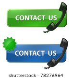 """contact us"" icon. phone... 