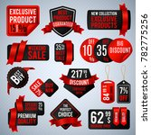price tags  special business... | Shutterstock . vector #782775256