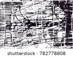 abstract grungy black and white ... | Shutterstock .eps vector #782778808