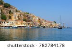 photo from picturesque port... | Shutterstock . vector #782784178