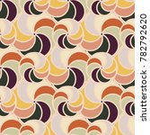 abstract color seamless pattern ... | Shutterstock .eps vector #782792620