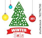 vector illustration of spruce... | Shutterstock .eps vector #782796700