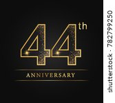 anniversary  aniversary  forty... | Shutterstock .eps vector #782799250