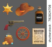 collection of wild west sheriff ...